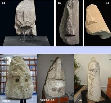 collage statue betilo maimoni